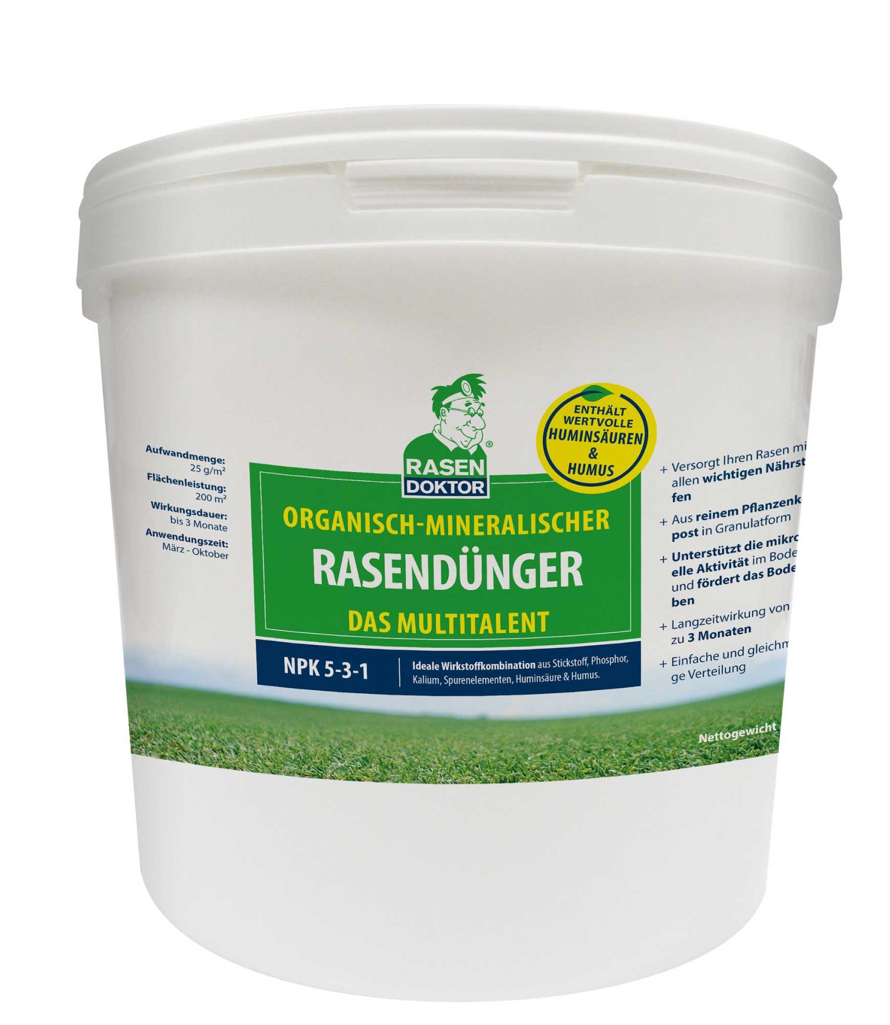 Mineralisch-organischer Rasendünger