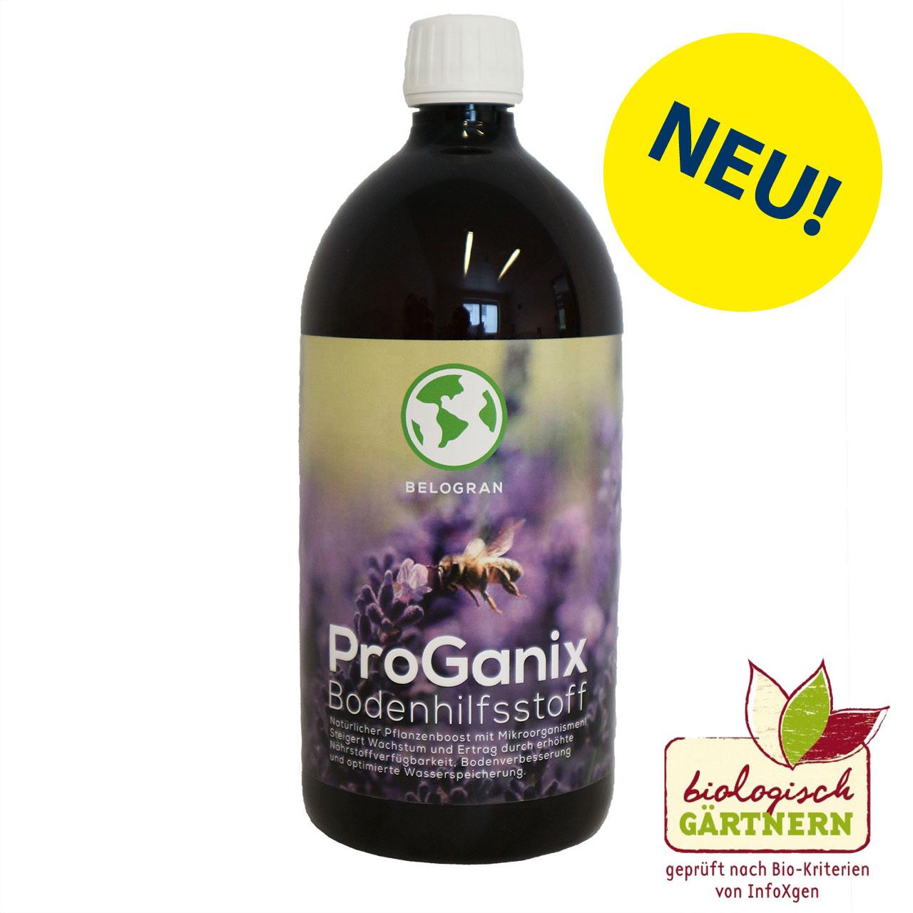 ProGanix Bodenhilfsstoff Flasche